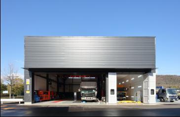 車両整備作業場イメージ